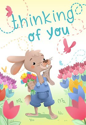 A Playful Bunny Printable Card Customize Add Text And Photos Print For Free Easter E Easter Printables Free Holiday Card Template Easter Greeting Cards
