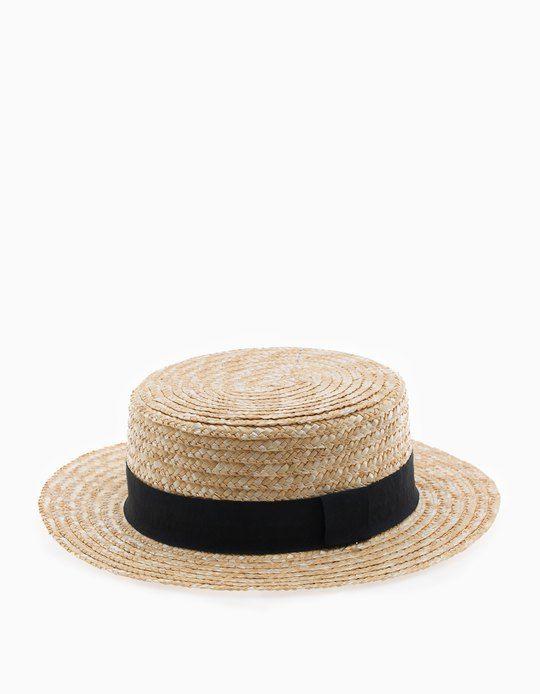 Modă Modă retailer online At Stradivarius you'll find 1 Straw gondolier hat for woman for ...