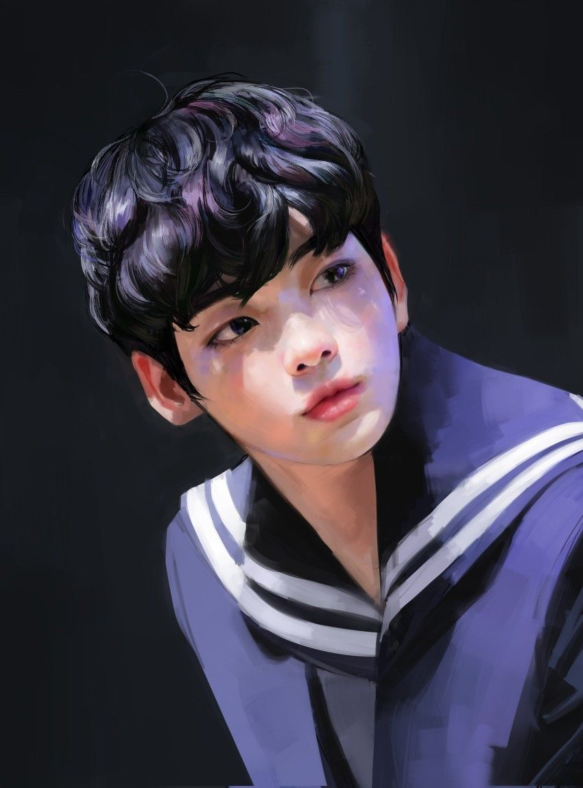 Pin By M A S H I K Y U K Y U On Txt Fanart Art Kpop Fanart Fan Art