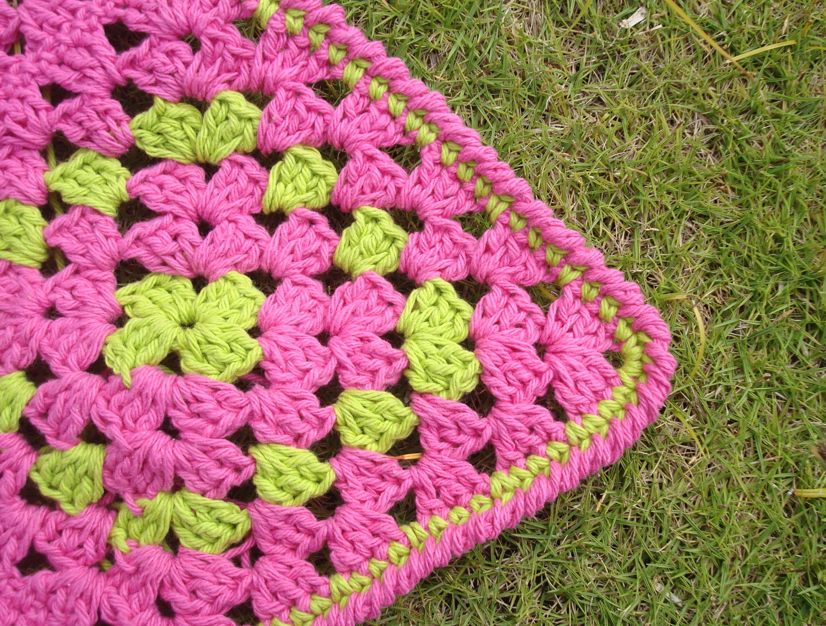Hastily Made Granny Square Baby Blanket Leads to Nice Refinements ...