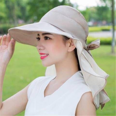 Sommer Frauen Hut Mit Nackenabdeckung Fur Reit Outdoor Sonnenschutz Hute Sun Hats For Women Sun Protection Hat Summer Hats