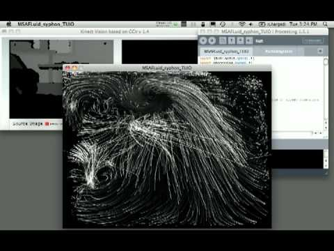 KINECT TO PROCESSING SYPHON TO VDMX - YouTube | CG Tuts 2013