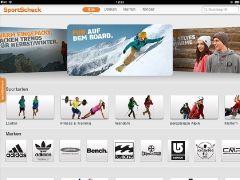 #SportScheck iPad App 1