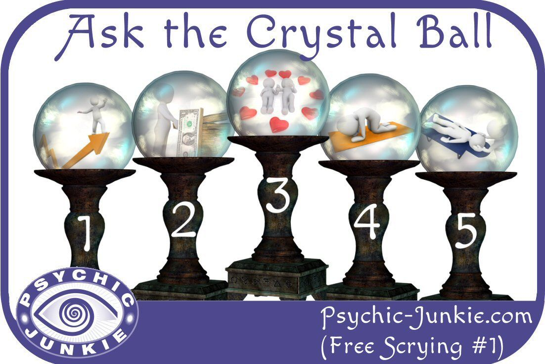 How to do fortune teller crystal ball readings like an