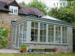 Timber Conservatories With Flat Roofs Google Search Green Roof House Orangery Roof House Roof