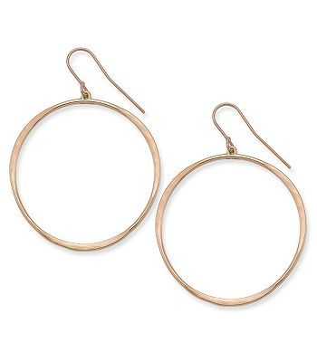 Hammered Loop Ear Hooks | Jewelry catalog, James avery ...