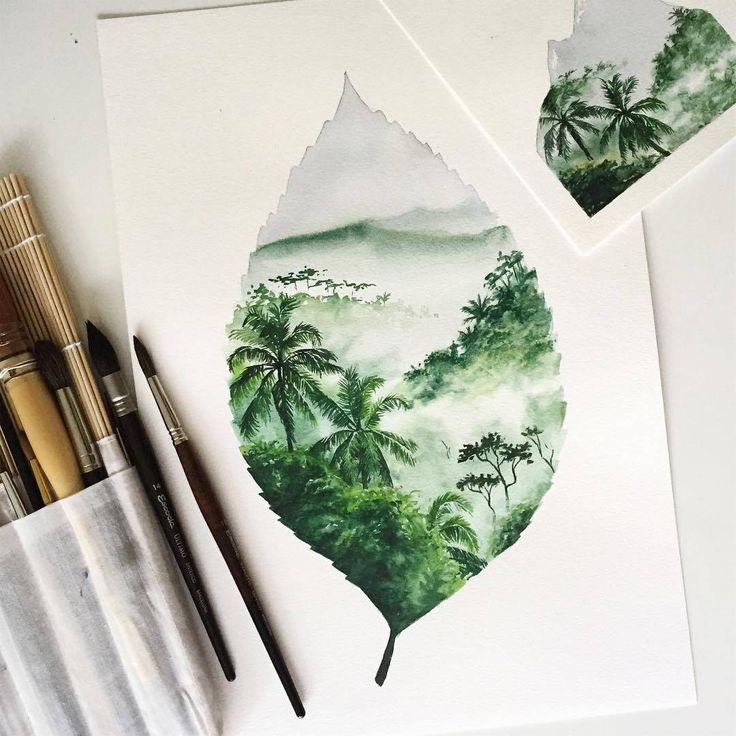 Pinterest Lookingthestars Kunstmalerei Malerei Aquarell Kunst