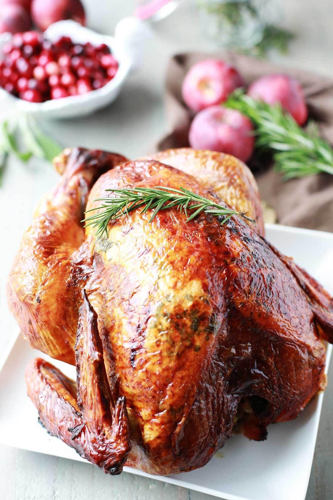 Photo of Turkey Recipe: Aromatic Lemon, Apple, and Herb Turkey | Tangled with Taste