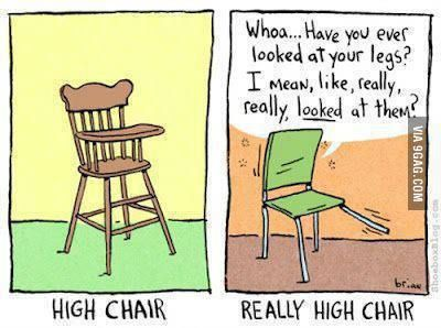 Really High Chair Silly Pictures Funny Pictures Bones Funny