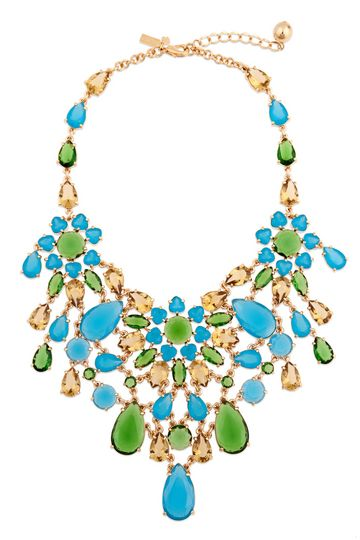 KATE SPADE NEW YORK ACCESSORIES  Solarium Bib Necklace
