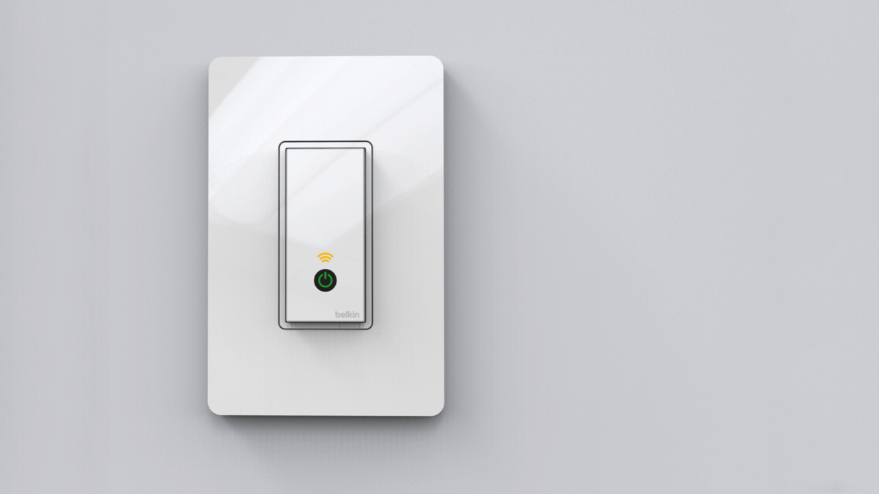 Belkin WeMo Light Switch | Electrical wiring, Light switches and ...