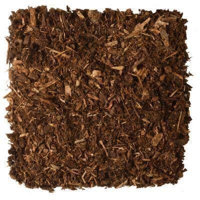 2 Cu Ft Hardwood Bark Mulch 673467 The Home Depot Organic Mulch Mulch Landscaping Mulch