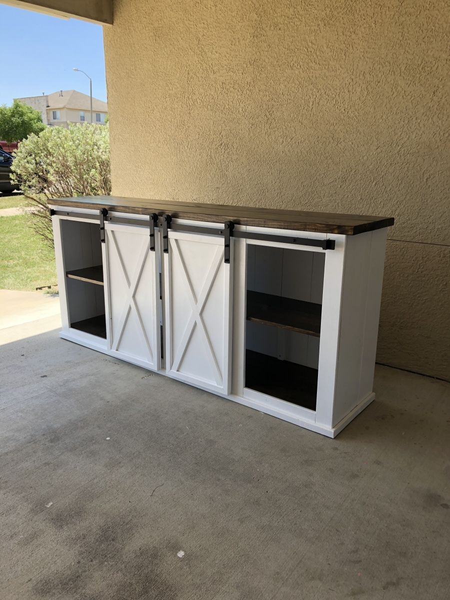 Grandy style Farmhouse Entertainment Center