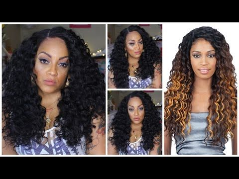 66c78a12303 Freetress Synthetic Equal Deep Invisible L Part Lace Front Wig ...