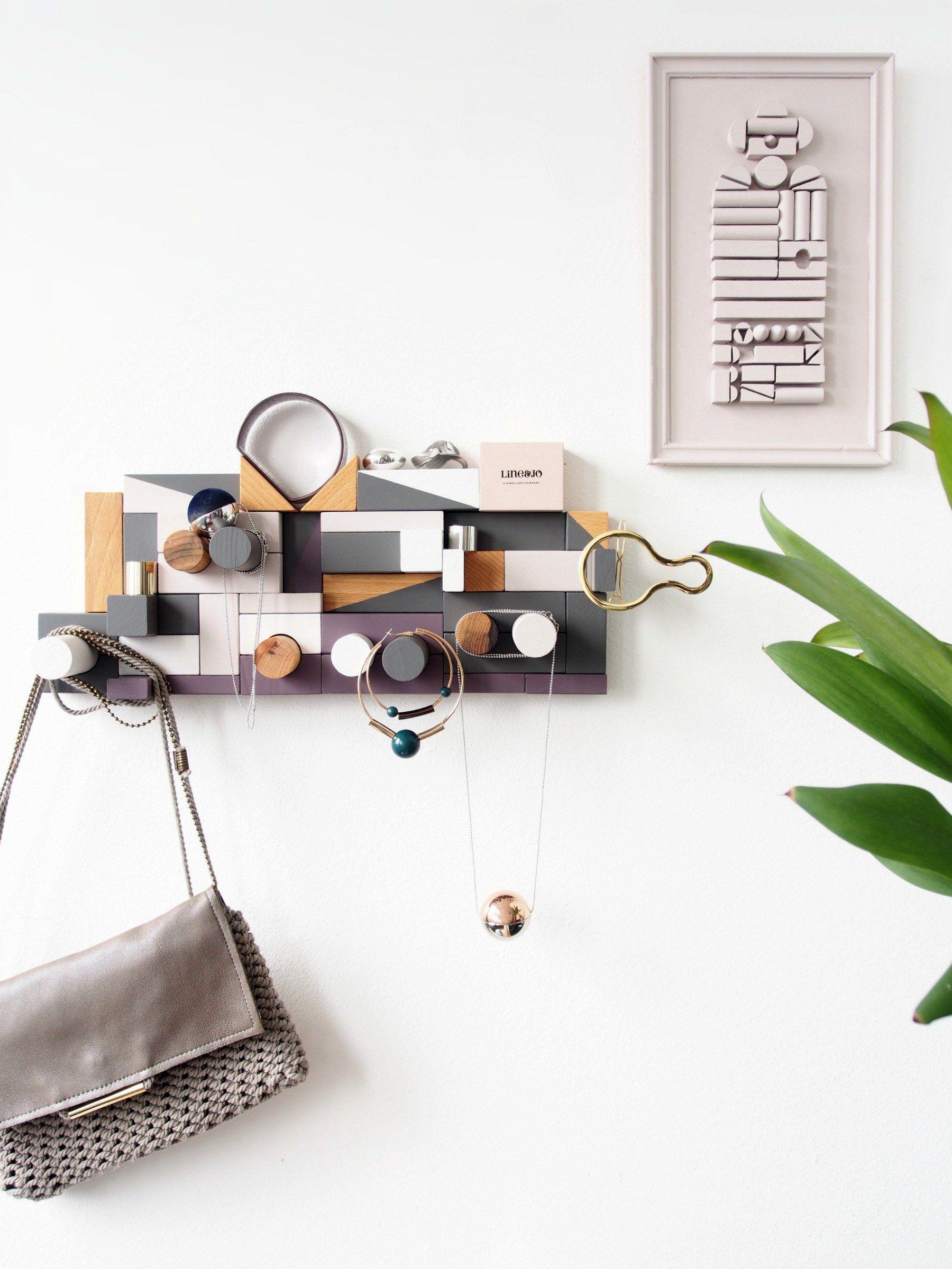 DIY Jewellery Organiser - Sadolin Mini Makeover | Pinterest ...