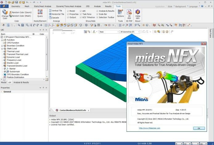 Working with midas NFX 2018 R1 full license | Phần mềm CAD/CAM/CNC