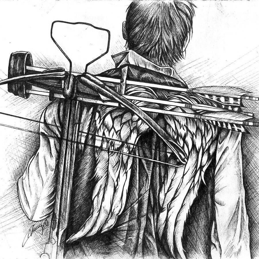 Daryl S Nook The Walking Dead Learn To Sketch Daryl