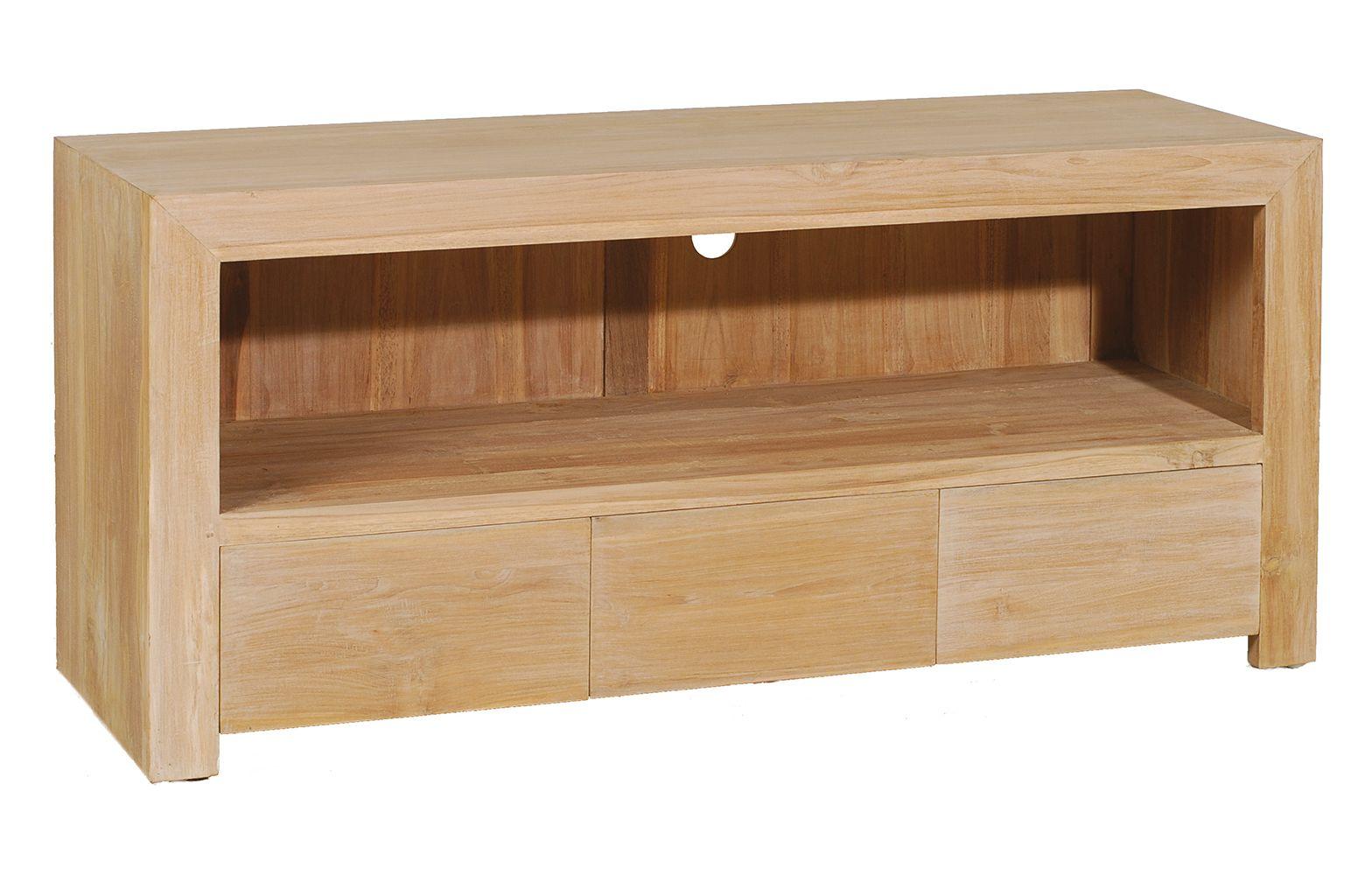 Hauteur Meuble Tele meuble tv 3 tiroirs 120cm diane | meuble tv, meuble et