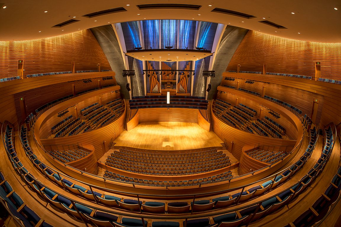 Kauffman Center For The Performing Arts In Kansas City Mo Performance Art Concert Hall Kansas City