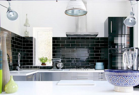 Black Subway Tile Kitchen Backsplash | White Subway Tiles Are A Classic And  Quite Pervasive Design