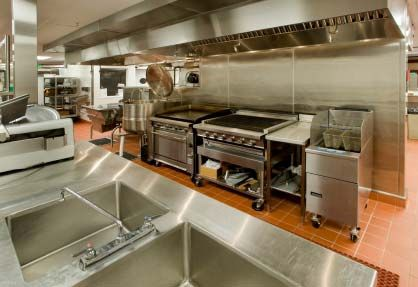 Restaurant Kitchen Walls freestanding and on wheels. could be good for part of the kitchen