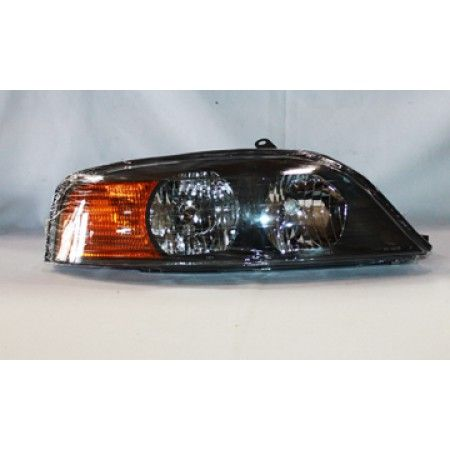 2000 Lincoln Ls Chrome Clear Euro Headlights Tyc Right Penger This