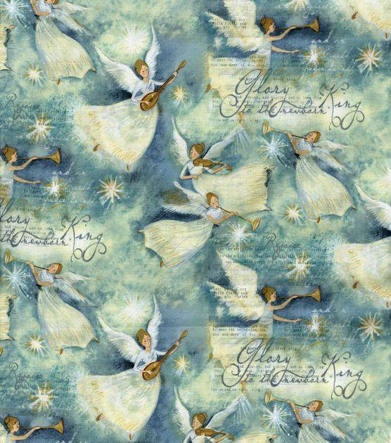 Holiday Inspirations-Glory Angels Fabric & Holiday Fabric at Joann