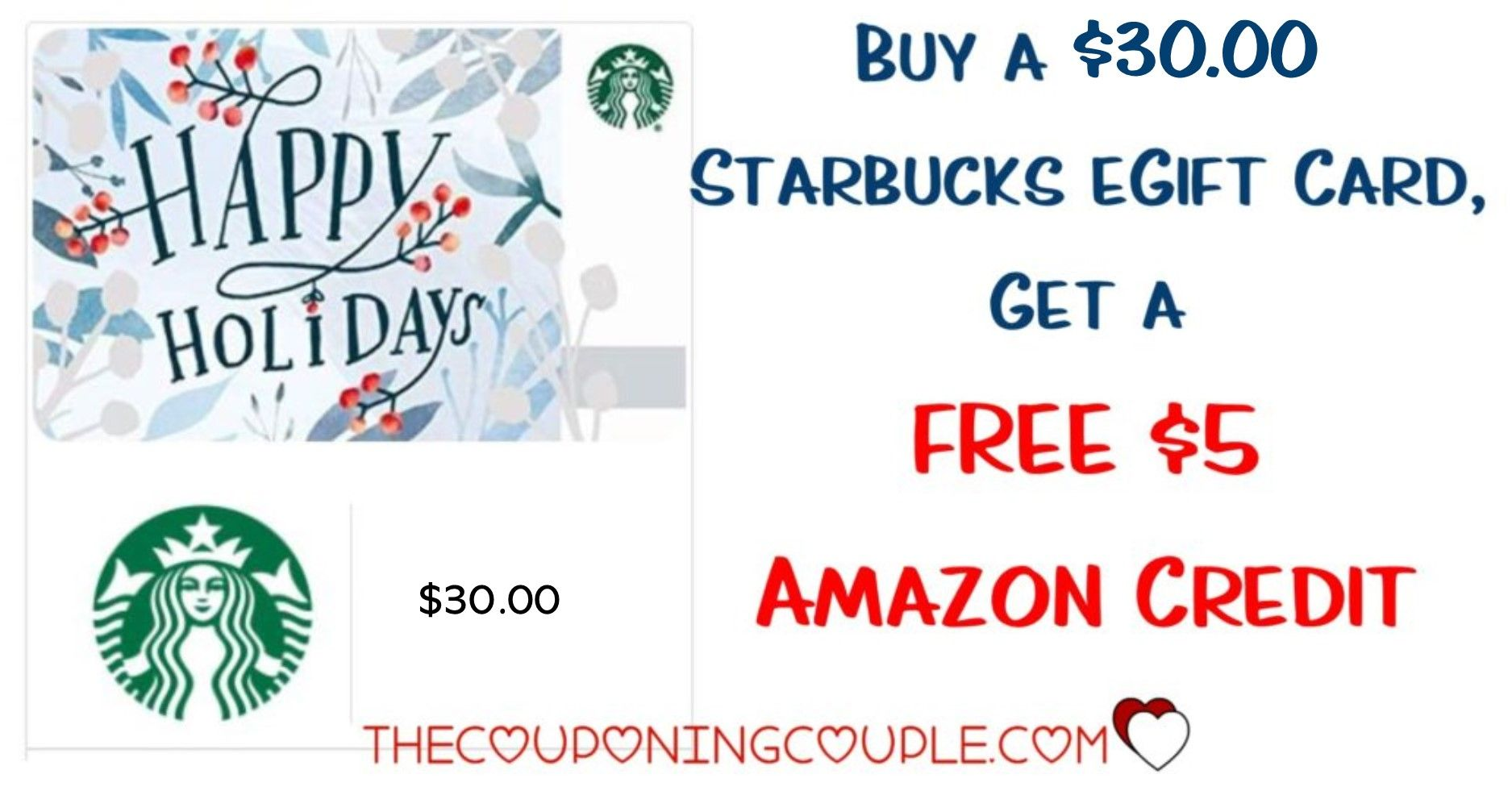 Photo of Buy a Starbucks Gift Card, Get FREE Amazon Credit!
