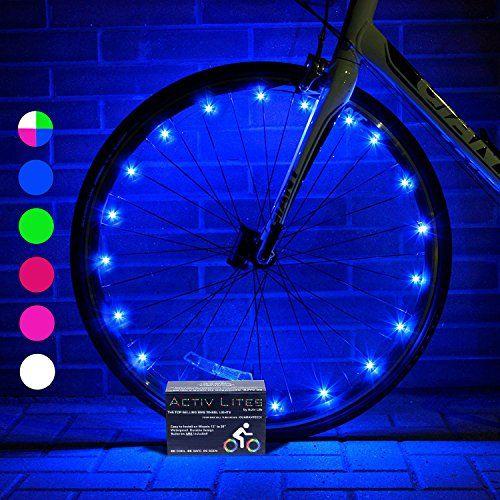 Super Cool LED Bike Wheel Lights Product for Kids Pinterest