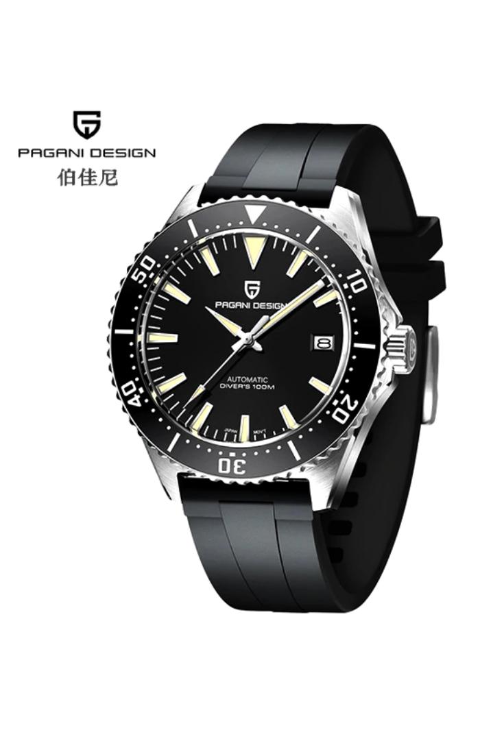 Pagani Design Pd 1672 Black In 2021 Watch Design Pagani Design