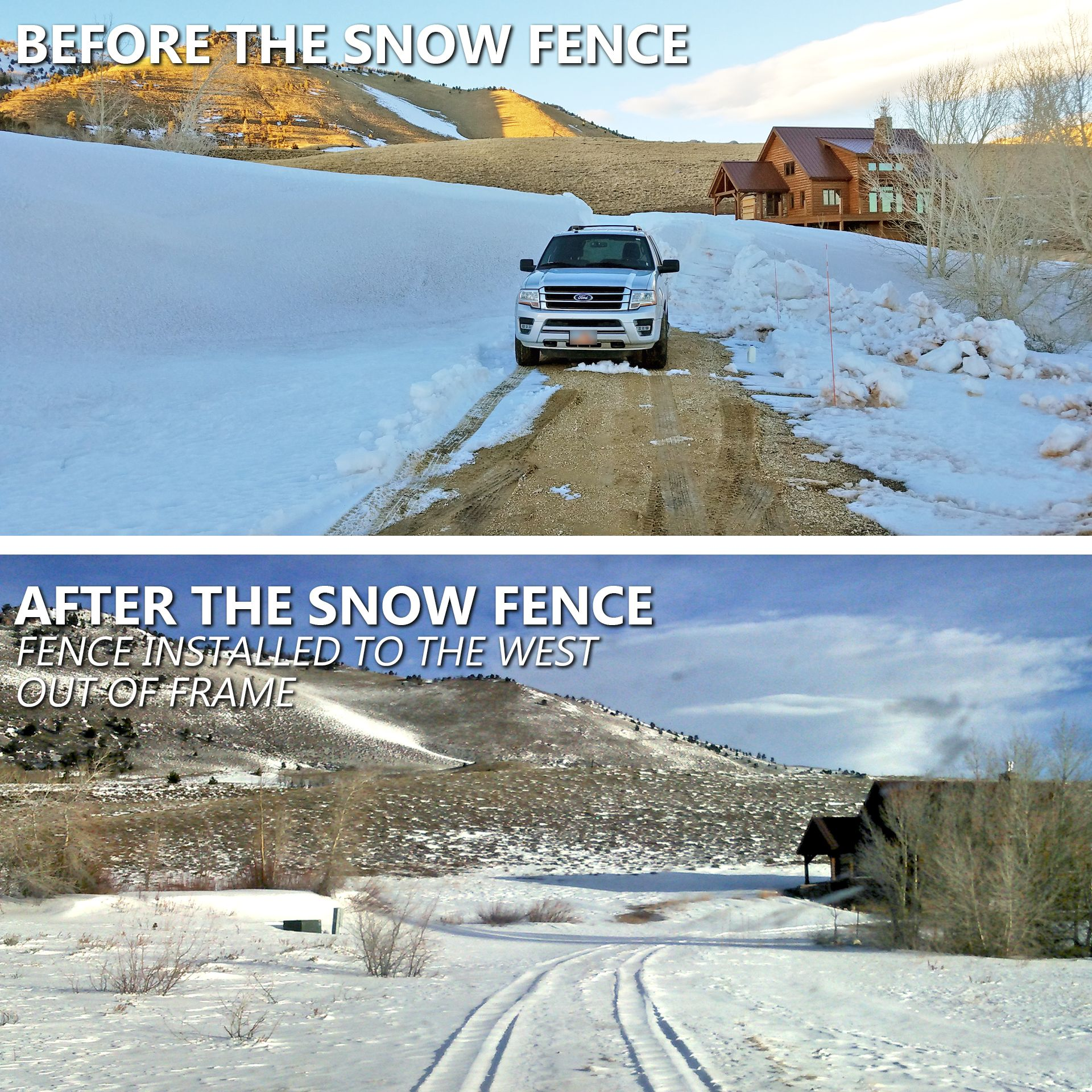 Centennial Woods Built Snow Fence For A Wyoming Landowner To Allow Them To Drive To Their Garage In The Winter Reclaimed Wood Siding Wood Siding Reclaimed Wood