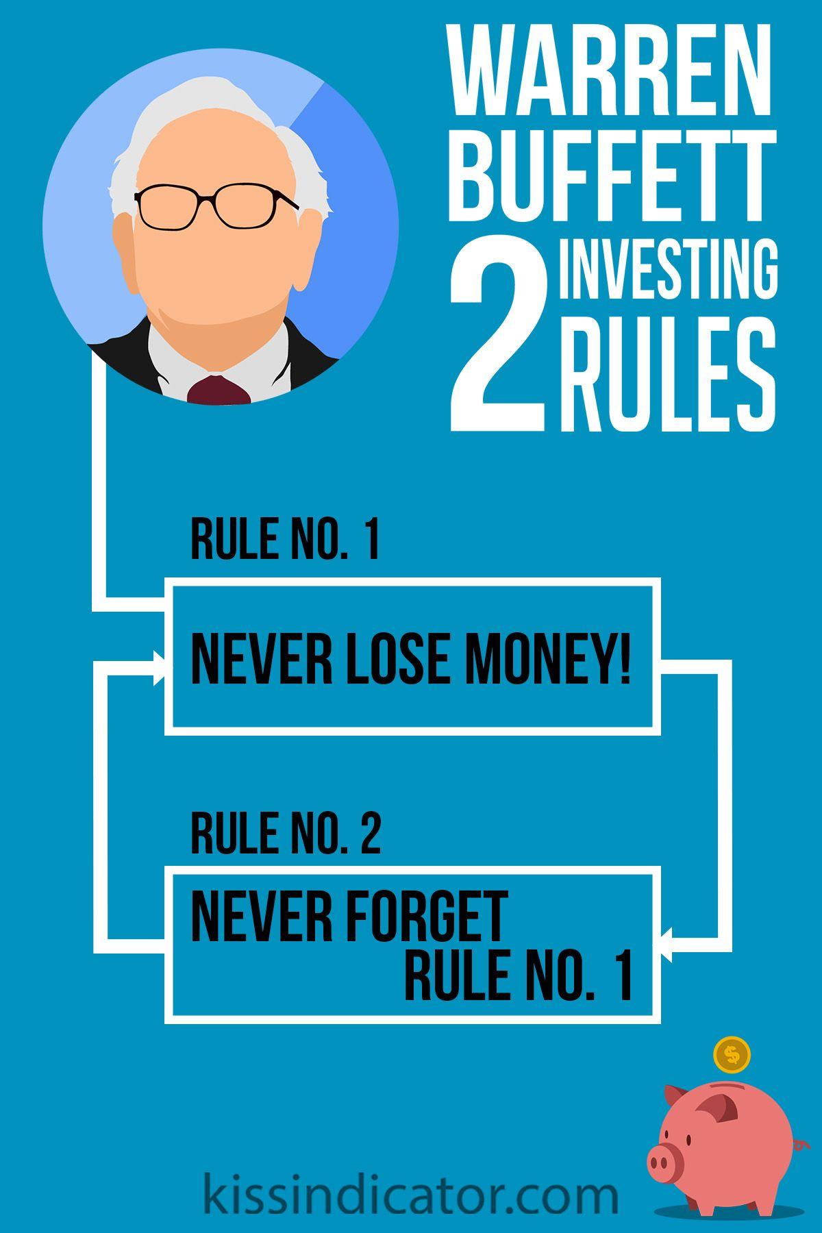 Warren Buffett 2 Investing Rules Share Like And Enjoy