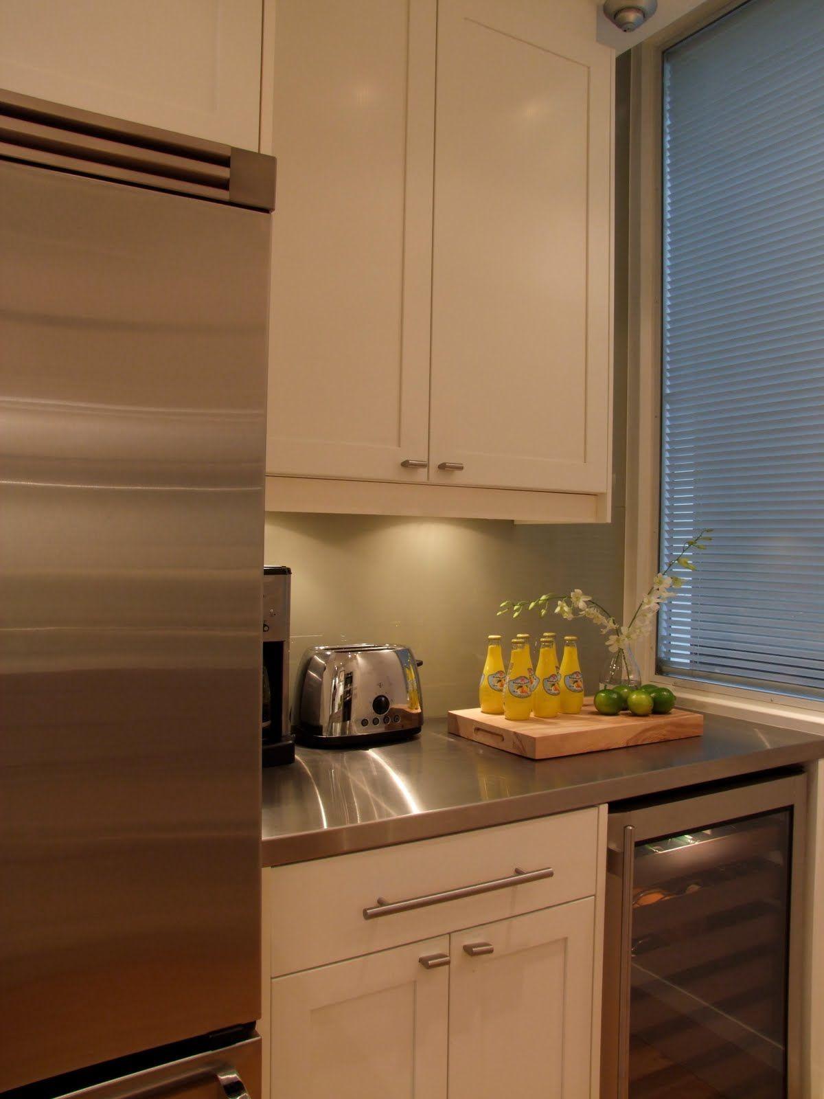 Painted IKEA Oak Tidaholm Kitchen