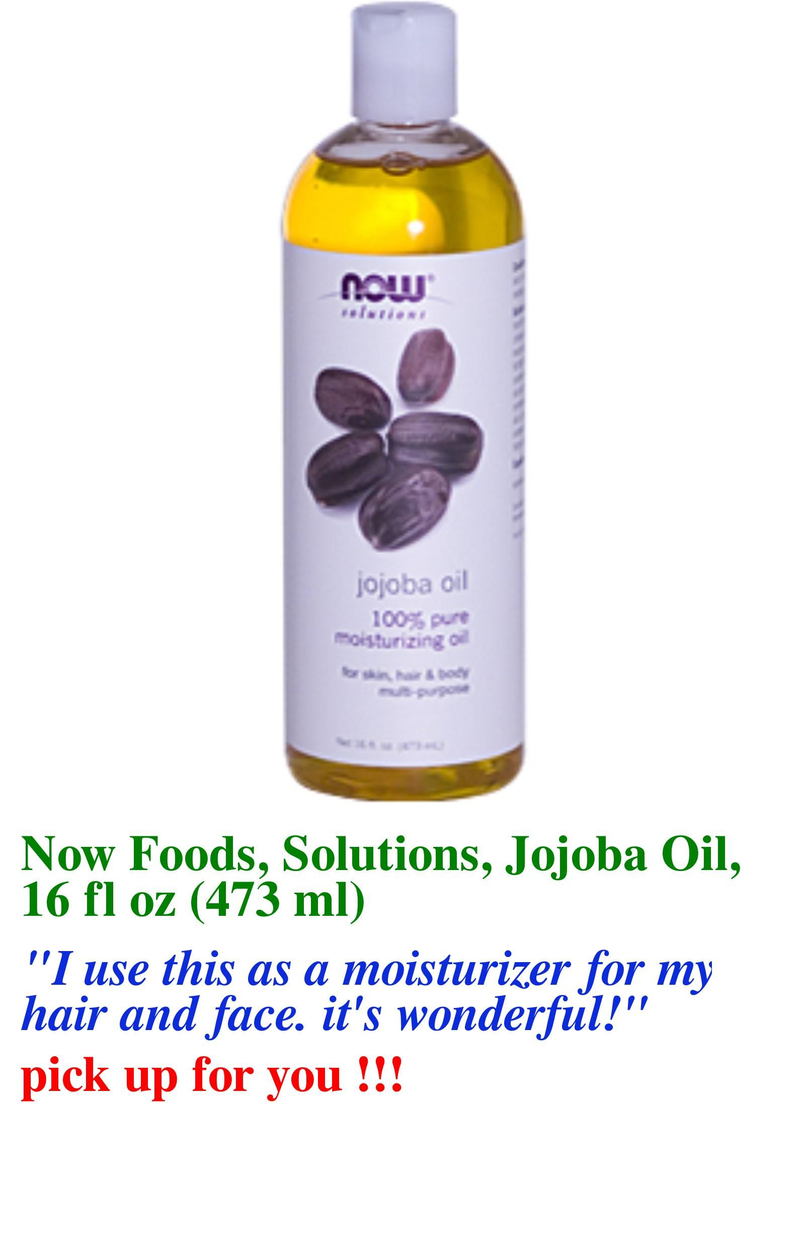 bath and beauty discount coupon code:JWH658,$10 OFF  iHerb Now Foods, Solutions, Jojoba Oil, 16 fl oz (473 ml) cod liver oil beauty benefits