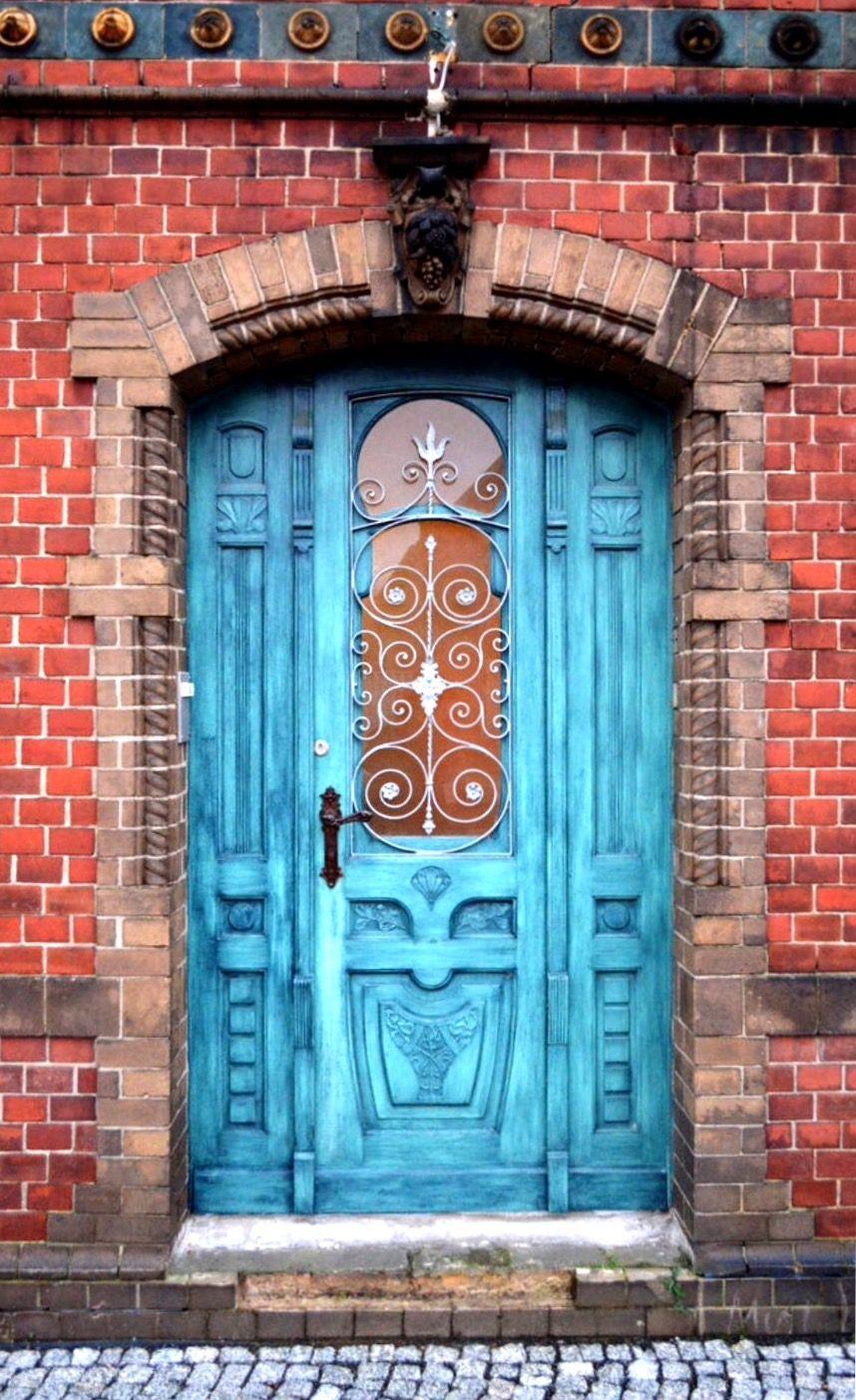 Treuenbrietzen Dsc0427 Beautiful Doors Exterior Door Colors Cool Doors