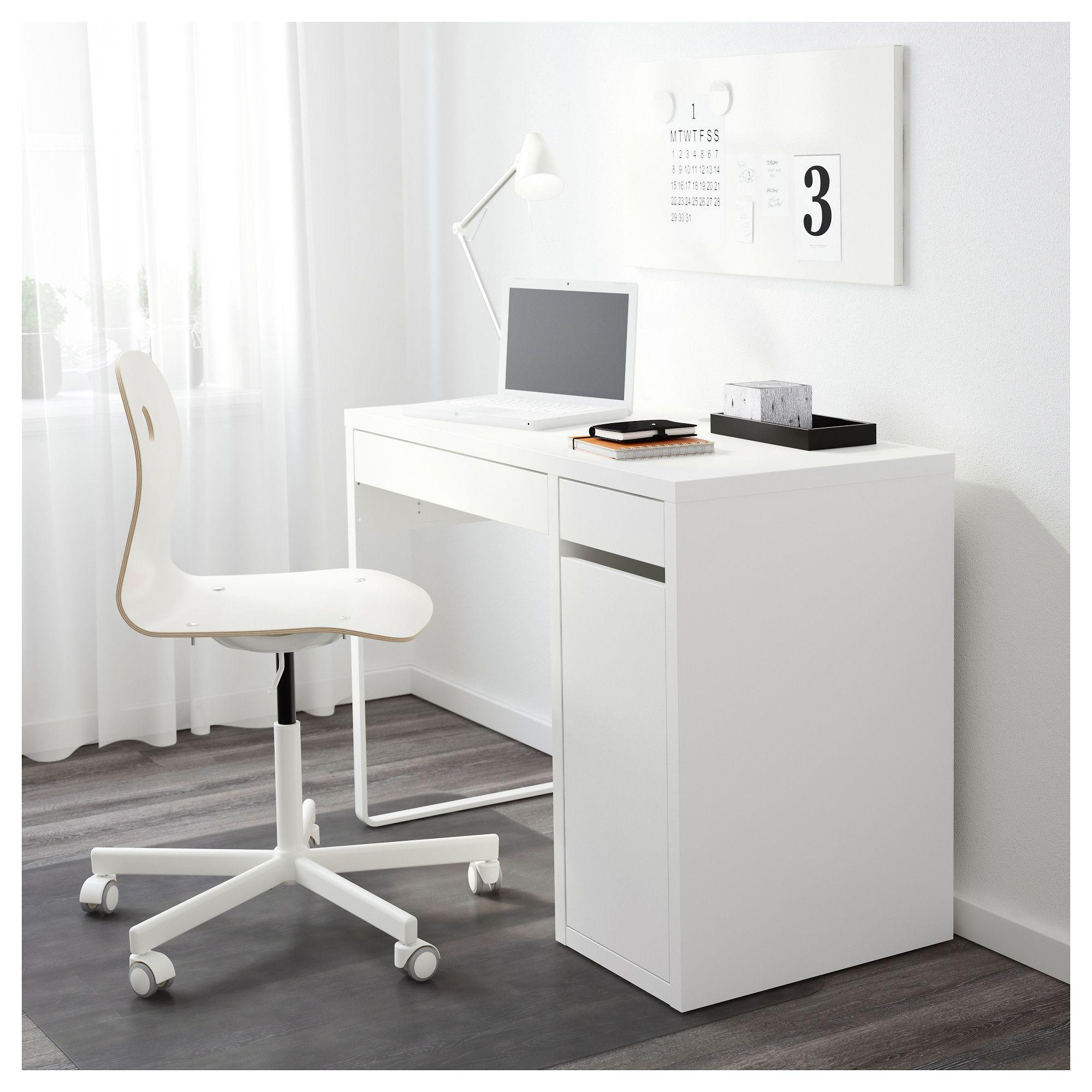 IKEA MICKE Desk white Micke desk, White desks, Ikea micke