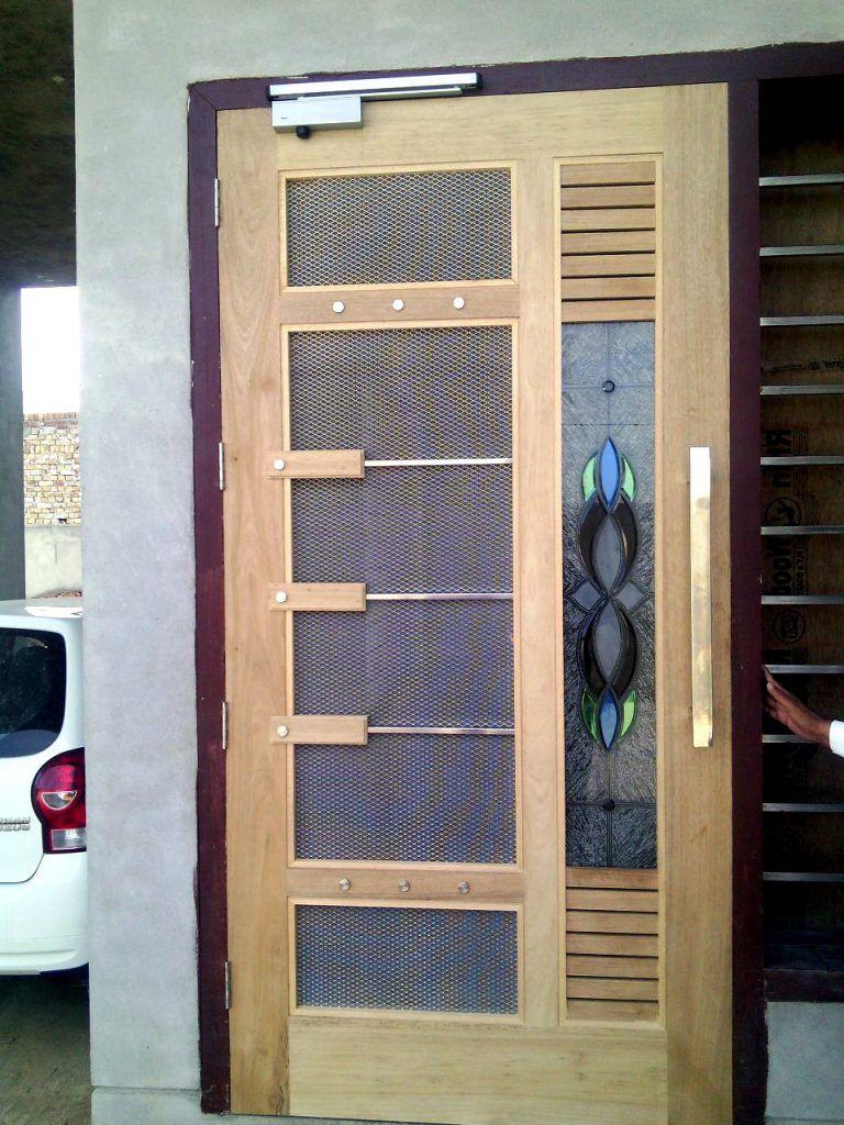 Net Door Design Mosquito Door Design Wood Working Idea Wooden Main Door Design Single Door Design Flush Door Design