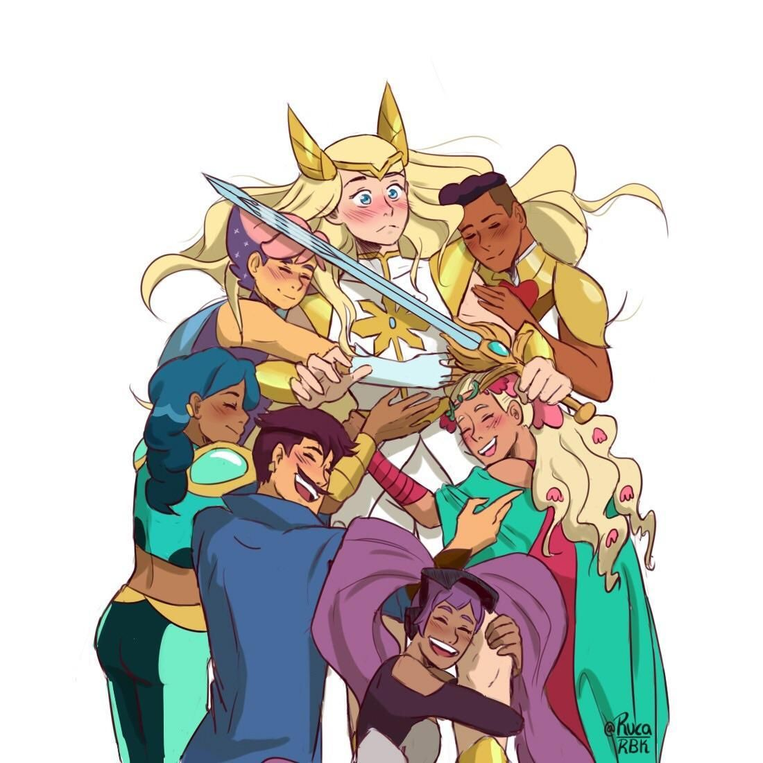 The Bae That Launched A Thousand Ships She Ra Princess Of Power