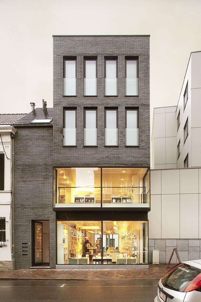Napojenie na pvodnu zstavbu Architektra Residential