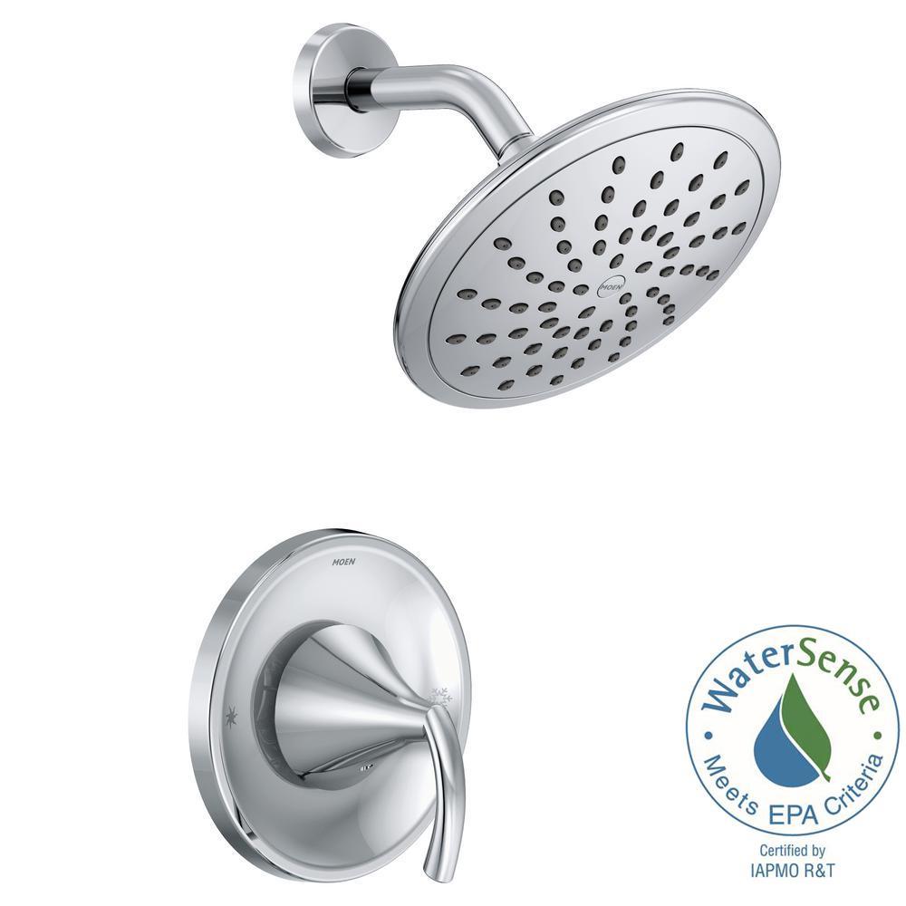 Moen Glyde Posi Temp Rain Shower 1 Handle Shower Only Faucet Trim