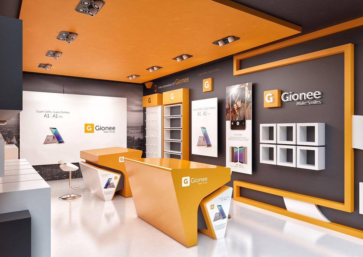mobile store design on behance | store design interior