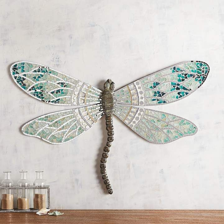 wall spectacular vintage dragonfly large decor decoration