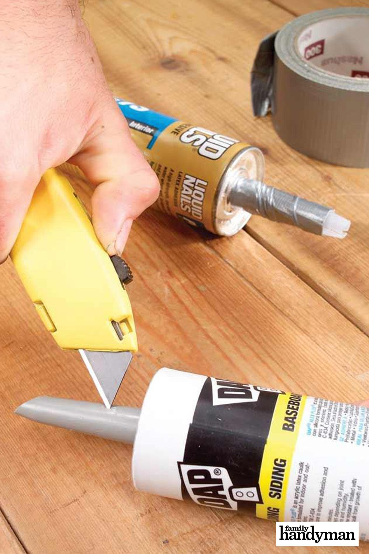 Tips For Caulking Caulking Tips Diy Home Repair Home Repair