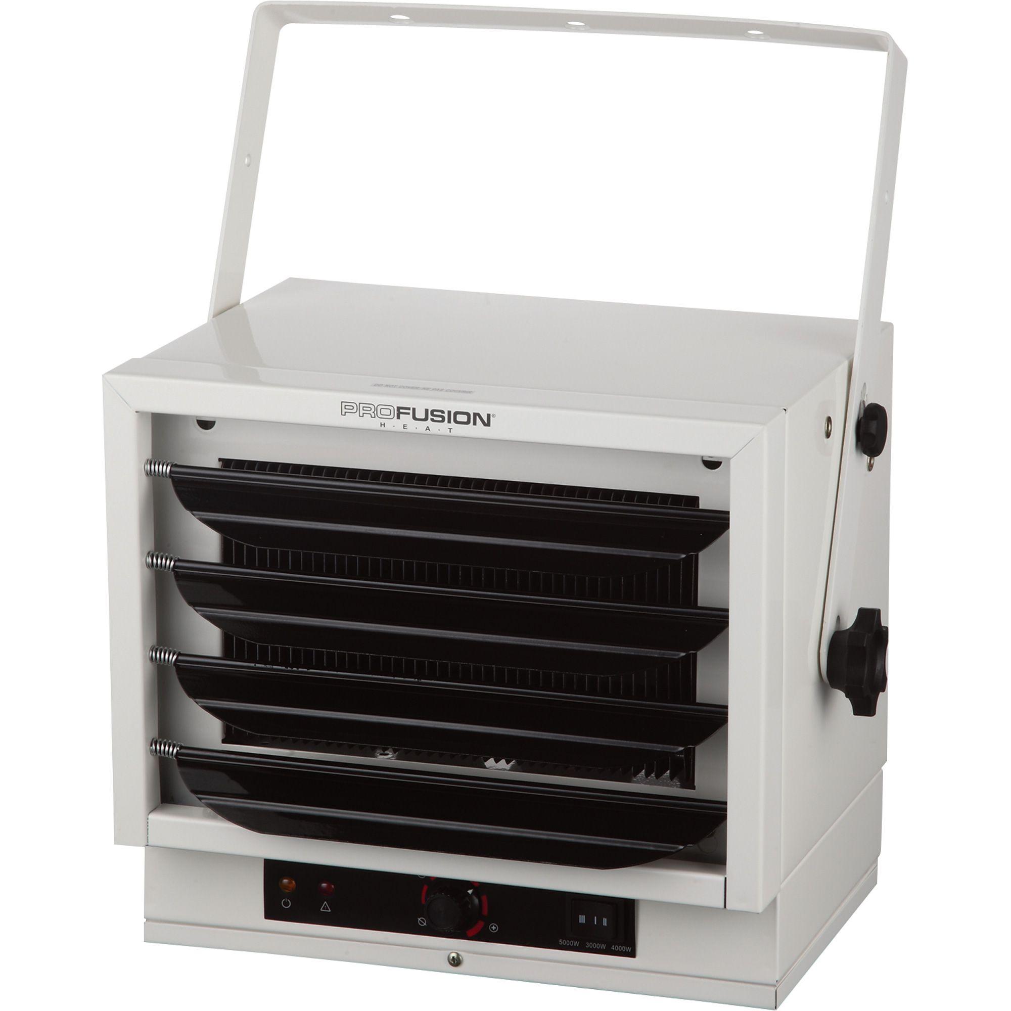 profusion garage heater u2014 btu 240 volts - Electric Shop Heater