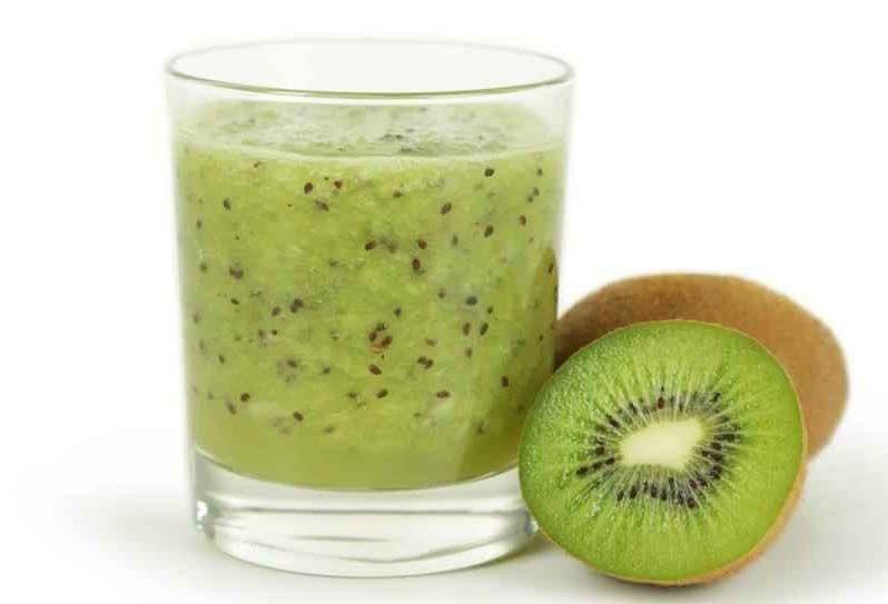 طريقة اعداد عصير الكيوي بالحليب Fruit Food Kiwi