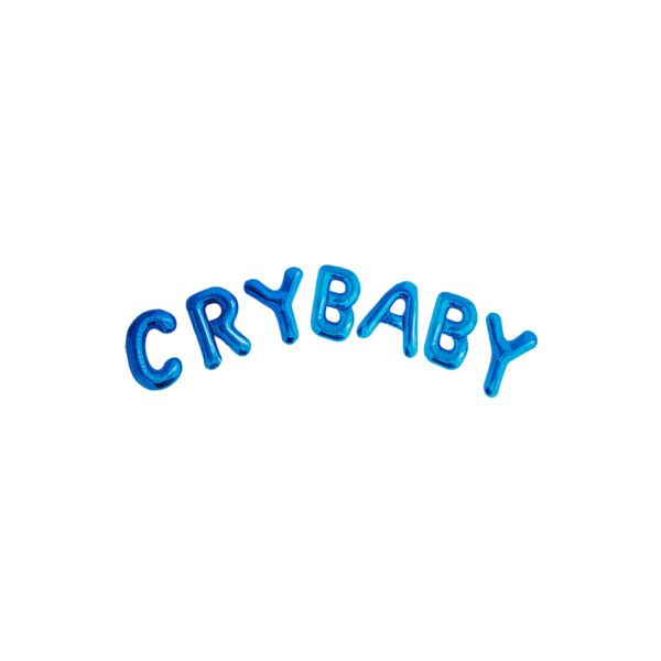 Crybaby Liked On Polyvore Featuring Text Fillers Words
