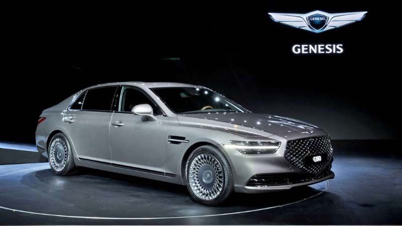 Genesis G90 Gets A Makeover In Korea Hyundai Genesis Best New Cars Hyundai
