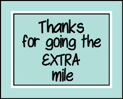 graphic regarding Thanks for Going the Extra Mile Printable titled Far more Mile Printable Thank By yourself Tag Womens ministries