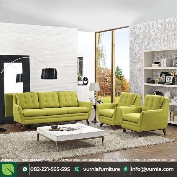 Satu Set Kursi Tamu Sofa Modern  #furnitureminimalis #FurnitureRetro #KursiTamu #KursiTamuModelScandinavian #SatuSetKursiTamu #ScandinavianDesign #ScandinavianFurniture #SetKursiTamuSofa #furnituremewah