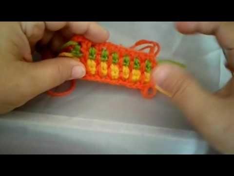 كورس تعليم الكورشيه للمبتدئين الدرس السابع الغرزه المنزلقه Youtube Crochet Tutorial Crochet Afghan Tutorial